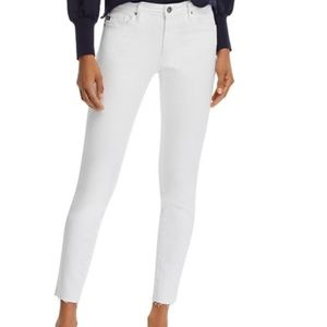 AG Ankle Legging Raw-Hem Jeans NEW